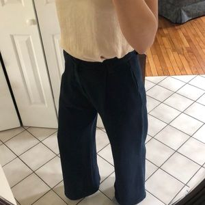 Ag Adriano Goldschmied Pants - AG Adriano Goldschmied wide-leg trousers, size 27